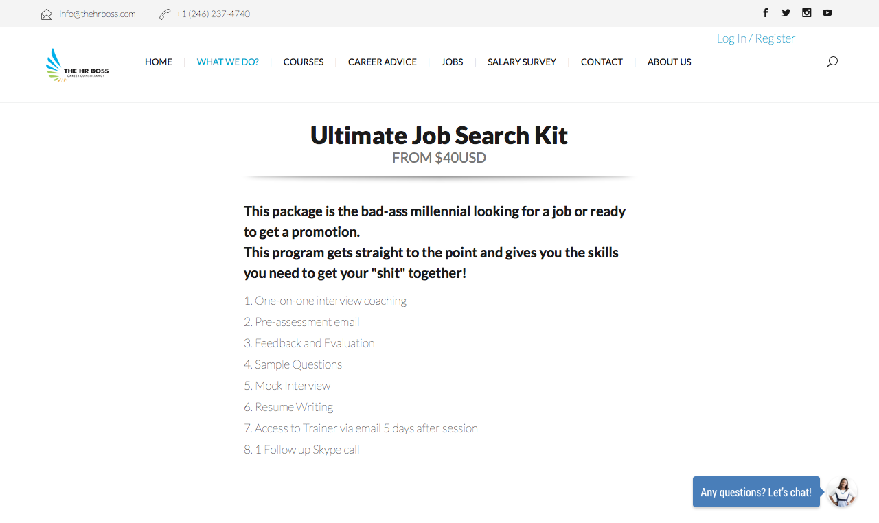 ultimate job search kit the hr boss